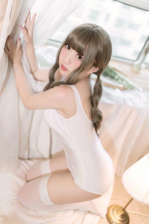 【cos】猫田圣奈奈 – 白色死库水【9p26M】【10】