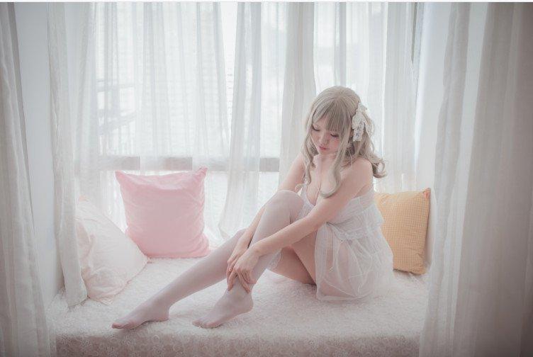 【写真】Yoko宅夏 - 白色连衣裙【转为pdf】精简方便看【23M】