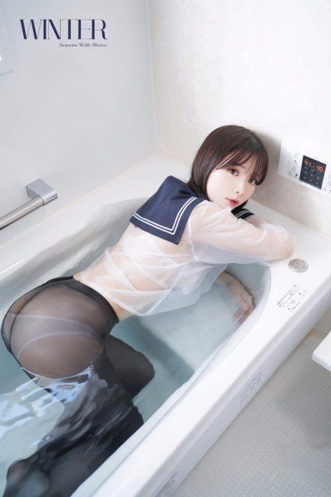 COS@疯猫ss 新增3套 竞泳+刺客+胶衣忍者【2.49GB】