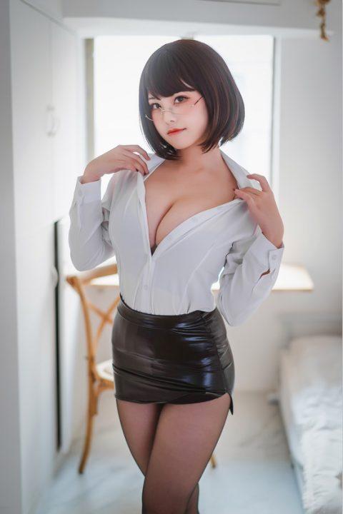 COS@蜜汁猫裘 红武士+醉OL【92P807M】